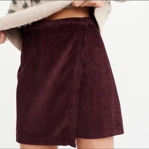 Abercrombie & Fitch Wrap-Front Skirt